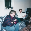 Submitted by P. Heuveline: Doug Massey and Jeff Reynar, ca. March 1998