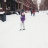 Submitted by P. Heuveline: Spruce Street, Jan. 1995