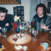 Submitted by P. Heuveline:  Pierre Martinot-Lagarde, and Patrick Heuveline, at Jane Menken's, Fall 1995
